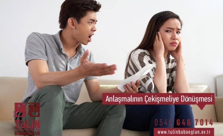 Anlaşmalı Boşanma Davasının Çekişmeli Boşanma Davasına Dönüşmesi