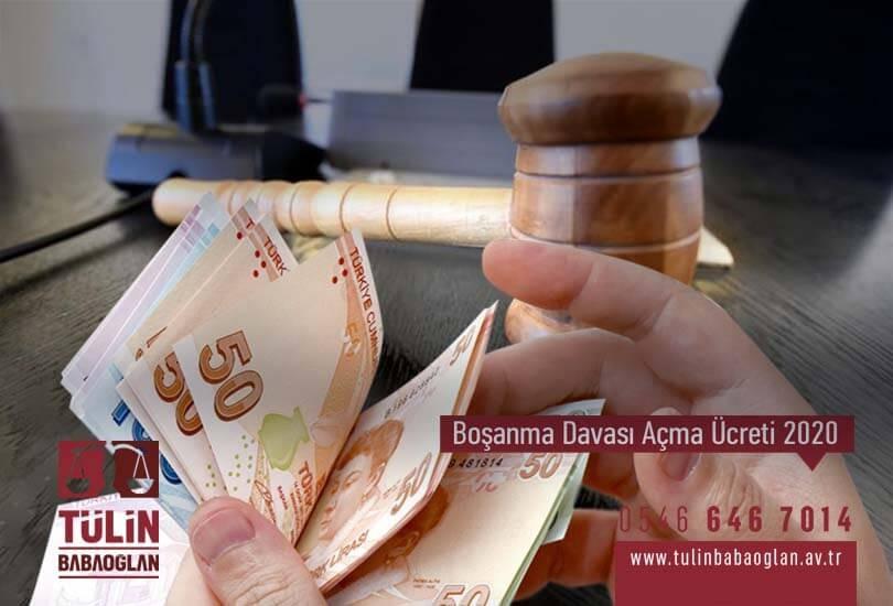Boşanma Davası Açma Ücreti 2020